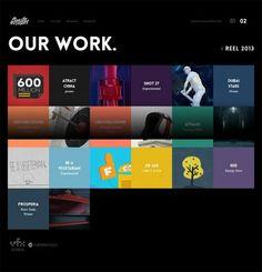 15 Modern Flat Portfolio Website Examples | Bashooka | Cool Graphic & Web Design Blog