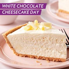 Repin if you will be making this Fluffy White Chocolate Cheesecake dessert recipe! :)
