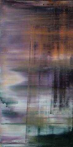 """Koen Lybaert; Oil, 2013, Painting """"abstract N° 624"""""""