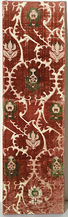 Piece, 15th century Italian silk