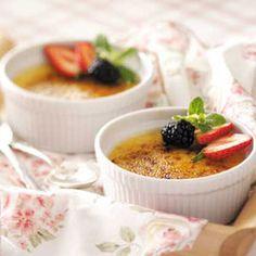 White Chocolate Creme Brulee Recipe | Taste of Home Recipes