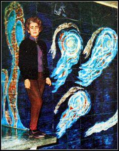 Füreya Koral 1970 Turkish Art, Ceramic Artists, Art And Architecture, Old Photos, Painting, Murals, Ava, Istanbul, Concrete