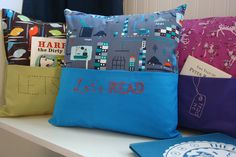 Book Nook Club: 12 Days of Christmas Gift Ideas for Book Lovers Day 5: Beeps' Peeps Reading Pillow & Giveaway