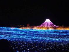 Nabana No Soto, le luminarie più belle del Giappone