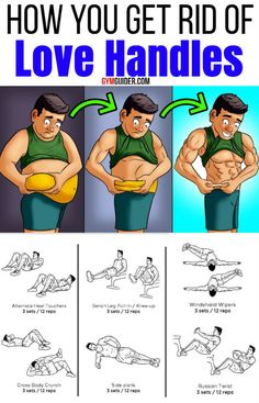 love handles workout at home ; love handles before and after ; love handles workout before and after ; love handles get rid of ; Gym Workout Chart, Gym Workout Videos, Abs Workout Routines, Gym Routine, Gym Workouts, At Home Workouts, Workout Exercises, Side Fat Workout, Fitness Exercises