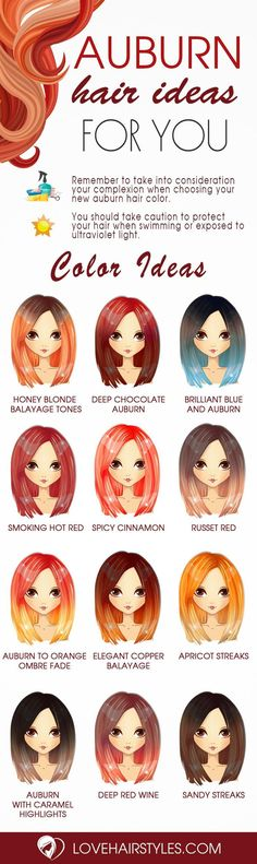 Absolutely Adorable Auburn Hair Shades ★ See more: http://lovehairstyles.com/auburn-hair-shades/