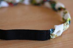 Confectionnez-vous un headband liberty tressé pour retenir vos cheveux pendant les grosses chaleurs de cet été : pratique, tendance et surtout super facile