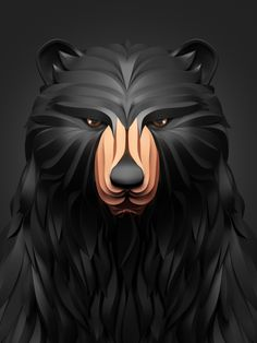 "A nice series of animal illustrations of a bear, a lion, a fox and an owl entitled ""Predators"" by Russian graphic designer Maxim Shkret. An interesting approach to give a 3D paper-like rendering thanks to various visual effects made using 3D Max, Vray, Zbrush and Adobe CS5. Enjoy! - See more at: http://www.zillamag.com/graphic/predators-illustrations-by-maxim-shkret/#sthash.ZsibI02c.dpuf"