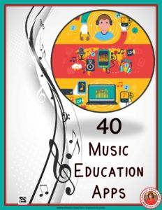 Free Download!!  A list of 40 apps for the music classroom