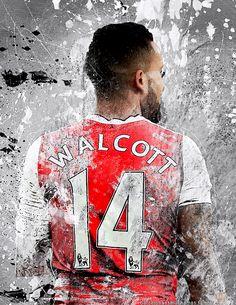 Theo Walcott.  Lock screen.