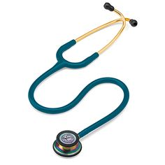 """High acoustic sensitivity makes the 3M Littmann Classic III™ 27"""" Stethoscope ideal for any clinician. Superior construction and tunable diaphragms offer durability and versatility. Dual..."""