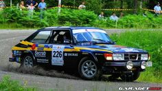 Replica Stig Blomqvist Rally 99 Turbo