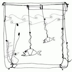 "Alexander Calder, ""Goldfish Bowl,"" 1929."