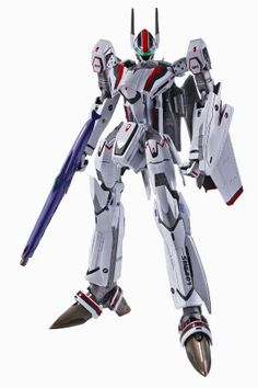 DX Chogokin  Macross F VF25F Messiah Valkyrie Saotome Alto Custom Renewal Ver by Bandai * More info could be found at the image url.