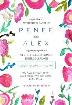 Easy Invitation Templates with great invitations design