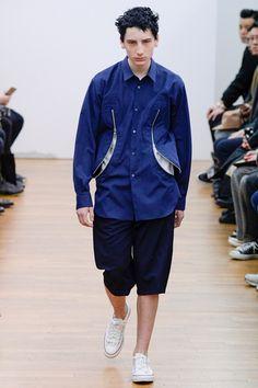 Sfilata Moda Uomo Comme des Garçons Shirt Parigi - Autunno Inverno 2016-17 - Vogue