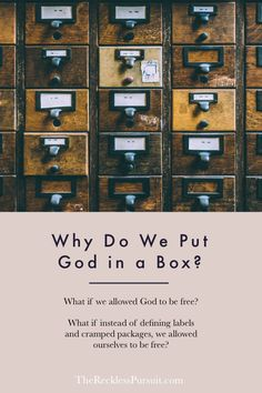 What if we allowed God to be free?   #TheRecklessPursuit #TRPpodcast #podcast #christianpodcast #personaldevelopment #selfhelp #church #spotify #faithpodcast #podcasts #SpotifyOriginals #educational