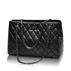 $26.88 (Buy here: https://alitems.com/g/1e8d114494ebda23ff8b16525dc3e8/?i=5&ulp=https%3A%2F%2Fwww.aliexpress.com%2Fitem%2F2015-Fashion-Woman-Bag-Promotional-Ladies-luxury-PU-Leather-Handbag-Chain-Shoulder-Bag-Plaid-Women-Crossbody%2F32548498732.html ) 2016 Fashion Woman Big Bags Ladies Luxury Handbag Women Plaid Chain Shoulder Bag Large Quilted Black Bolsas Femininas for just $26.88