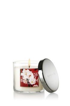 Amazon.com: Bath and Body Works Japanese Cherry Blossom scented jar candle, 4 oz: Home & Kitchen