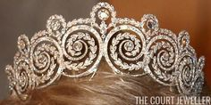 Khedive tiara, in possession of the Danish royal family