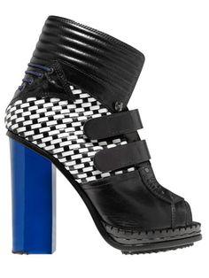 Proenza Schouler booties #leather #shoes #fashion