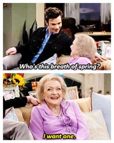 Me too Betty, me too