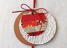 giochi di carta: giochi di carta #30 riciclo creativo: gift paper tags
