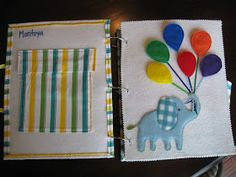 I made Bradley a quiet book! I actually started it when he was first born because I needed a project and I knew I had more time then when he...
