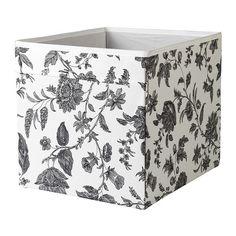 DRÖNA Pudełko IKEA Świetnie nadaje się na wszystko, począwszy od gazet po ubrania. Uchwyty po obu stronach uławiają wysuwanie szuflady.