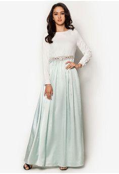 Jual maxi dress muslim online