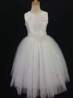 Couture First Communion dress - Christie Helene - April - NEW 2015 - Beautiful Communion Dress For Girl - Girls First Communion Dresses - First Holy
