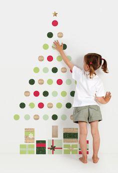 Christmas Wall Sticker Combos ~ tinyme.com.au