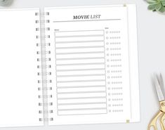 TV Show Checklist / Letter Size / Personal Growth Television Series Life Planner Log Printable Planner Book, Life Planner, Movie Tracker, Vacation Planner, Copy Paper, Book Study, Day Planners, Planner Organization, Letter Size