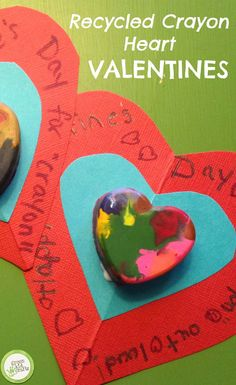 Give these to your sweethearts on Valentine's Day! Such unique and sweet homemade cards.  http://www.greenkidcrafts.com/homemade-valentines/