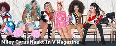 Miley Cyrus Naakt In V Magazine
