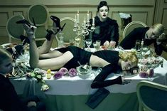 21 Magnificent Miles Aldridge Shoots - From Deranged Domestic Editorials to Racist Photo Shoots (CLUSTER)