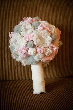 Fabric Flower Alternative Bouquet