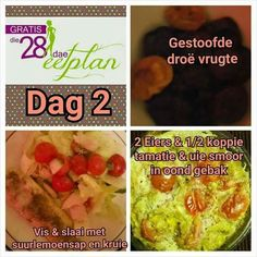 Banting Recipes, Diet Recipes, Healthy Recipes, Recipies, Diet Meals, 28 Dae Dieet, Fisher, Dieet Plan, Clean Eating