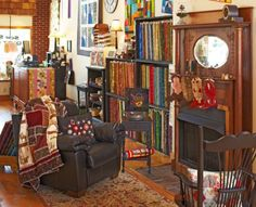 Sew Sweet Quilt Shop in Brunswick, Missouri, courts quilters with fabric and an extensive event list-including monthly homemade meals and rejuvenating retreats.