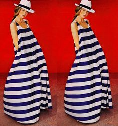 0980c1a0ad3c Style  Summer Beach party Evening Cocktail Maxi dress Sundress.  O-neck