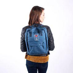 Blue Original Fox Soup Rucksack Herschel Heritage Backpack, Kanken Backpack, Fox, Backpacks, The Originals, Trending Outfits, Unique Jewelry, Blue, Etsy