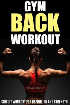 This back workout at the gym is perfect to increase strength and muscle definiti. , This back workout at the gym is perfect to increase strength and muscle definiti. Bra Fat Workout, Gym Back Workout, Back Workout Women, Good Back Workouts, Sunday Workout, Fun Workouts, Back Excersises For Women, Chest And Back Workout, Core Workout Routine
