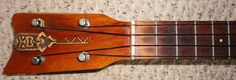 vintage 1970s tiki koa kamaka concert ukulele