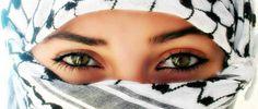 Eyes of Palestine Beautiful Muslim Women, Beautiful Hijab, How Beautiful, Cute Eyes, Gorgeous Eyes, Palestine Girl, Heiliges Land, Father And Girl, Islamic Girl