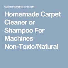 Diy carpet cleaner for a machine 1 gallon hot water 12 cup homemade carpet cleaner or shampoo for machines non toxicnatural solutioingenieria Gallery