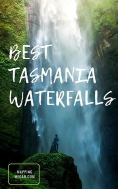 Interested in Tasmania travel? Tasmania has some of the best waterfalls in Australia - perfect for photography, chasing waterfalls is one of the best Tasmania things to do! Check out these beautiful places for your bucket lists - click through! Brisbane, Melbourne, Perth, Sydney, Australia Map, Visit Australia, Western Australia, Australia Honeymoon, Tasmania Road Trip