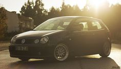 VW Polo 9n + BBS LM by Sérgio T. Lopes, via Flickr Volkswagen Polo, Subaru, Car Seats, Pictures, Photos, Classic, River, Type, Cars