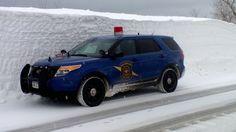 Michigan State Police Ford Interceptor Utility