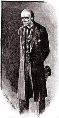 Arthur Conan Doyle – The Final Problem, ilustración de Sidney Paget (1893)