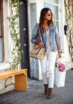 5 WAYS TO WEAR WHITE JEANS